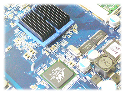 Synology DS209+のCPUイメージ