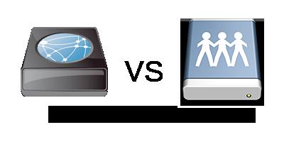 iSCSI vs ファイル共有